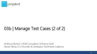 Anthony Borton | ALM Consultant, Enhance ALM
