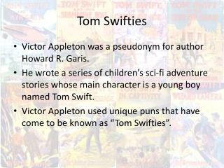 Tom Swifties