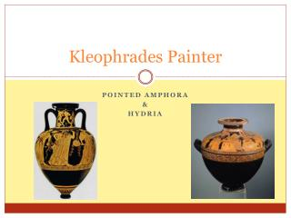 Kleophrades  Painter