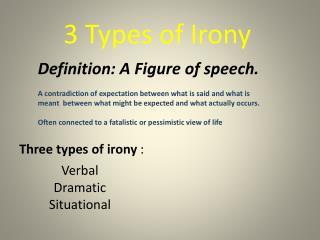 3 Types of Irony