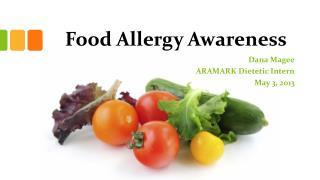 Food Allergy Awareness