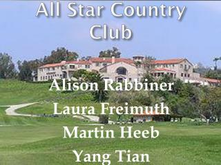 All Star Country Club