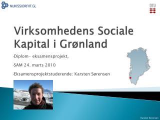 Virksomhedens Sociale Kapital i Grønland