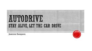 AutoDrive Stay Alive, let the car drive