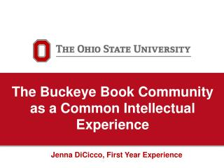 The Buckeye Book Community as a Common Intellectual Experience