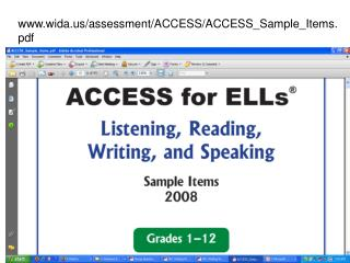 www.wida.us/assessment/ACCESS/ACCESS_Sample_Items.pdf