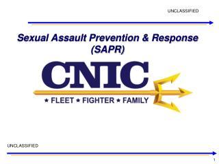 Sexual Assault Prevention & Response (SAPR)