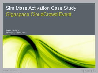 Sim Mass Activation Case Study