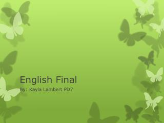 English Final