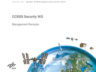 CCSDS Security WG