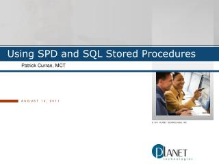 Using SPD and SQL Stored Procedures