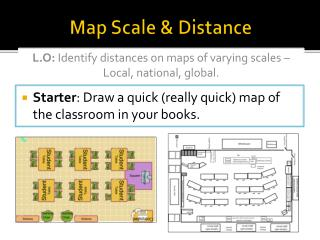 Map Scale & Distance