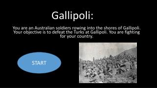 Gallipoli: