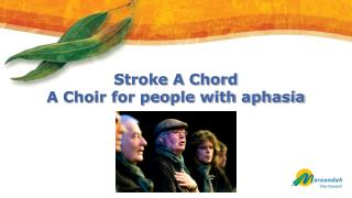 Stroke A Chord   A Choir for people with aphasia