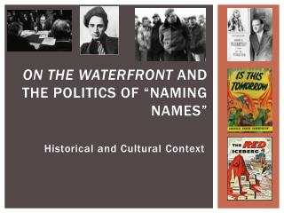 "On the Waterfront  and the politics of ""naming names"""