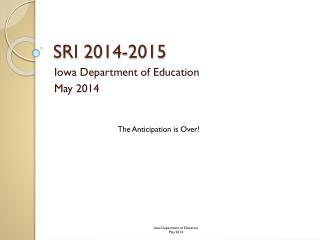 SRI 2014-2015