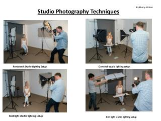 Studio Photography Techniques