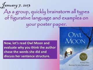 January 7, 2013
