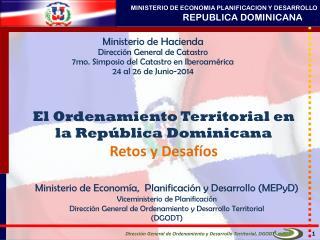 El Ordenamiento Territorial en la República Dominicana Retos y Desafíos