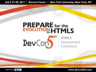 HTML5 and the future JavaScript platform