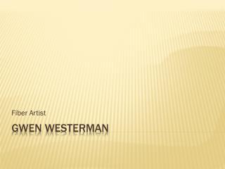 Gwen Westerman
