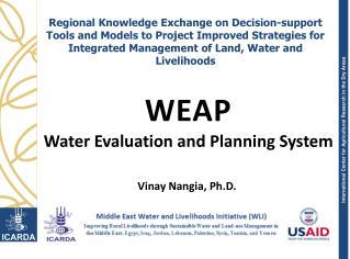 WEAP Water Evaluation and Planning System