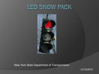 LED SNOW PACK