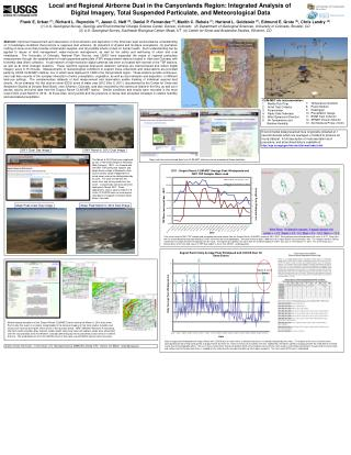 Local and Regional Airborne Dust in the  Canyonlands  Region: Integrated Analysis of
