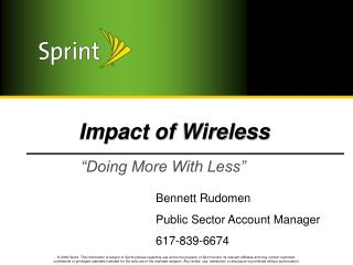 Impact of Wireless