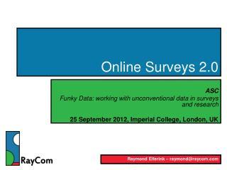 Online Surveys 2.0