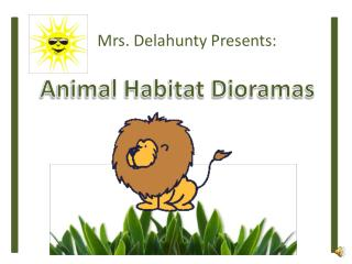 Animal Habitat Dioramas