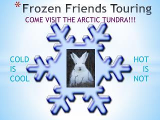 Frozen Friends Touring