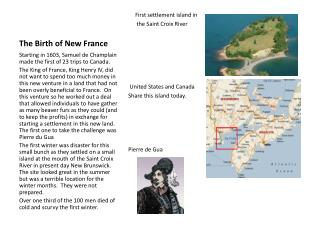 The Birth of New France