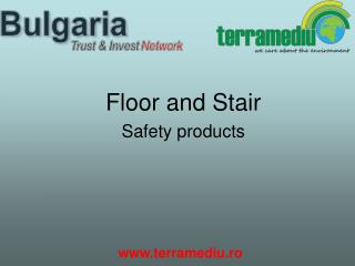 Floor and Stair  Safety products