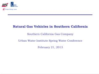 Why Natural Gas Vehicles?