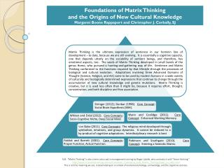 Stringer  (2012); Dunbar (1998).   Core Concept :   Social Brain Hypothesis (SBH) .