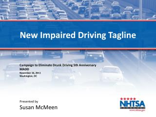 New Impaired Driving Tagline