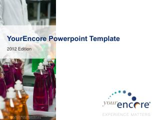 YourEncore Powerpoint  Template