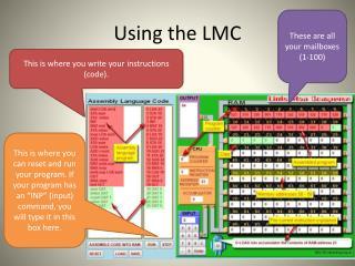 Using the LMC