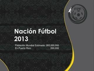 Nación Fútbol 2013