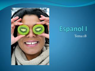 Espanol  I