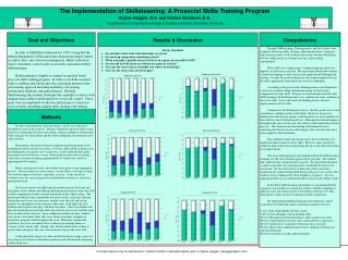The Implementation of  Skillsteaming : A  Prosocial  Skills Training Program