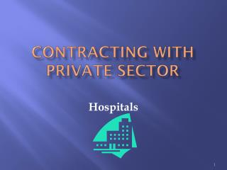 Contracting with Private Sector