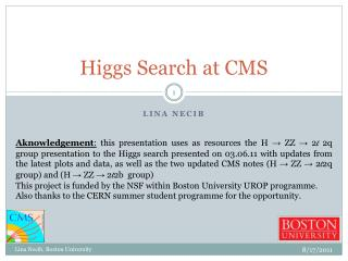 Higgs Search at  CMS