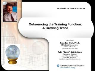 Outsourcing the Training Function: A Growing Trend