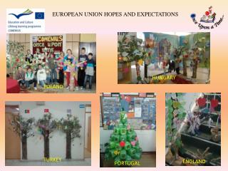 EUROPEAN UNION HOPES AND EXPECTATIONS