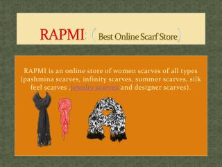 RAPMI Scarves for Women