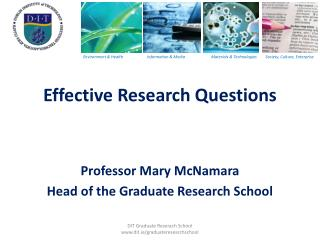 Effective Research Questions