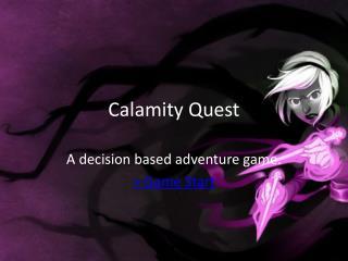Calamity Quest