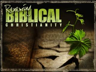 The Source of Biblical Christianity